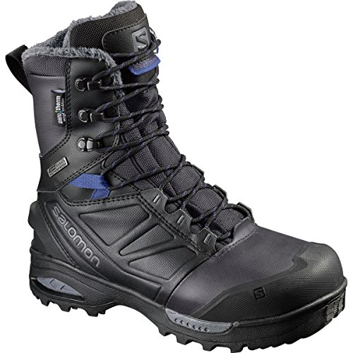Salomon Women's Toundra Pro CSWP W Snow Boot, Phantom/Black/Amparo Blue, 9 M US by Salomon