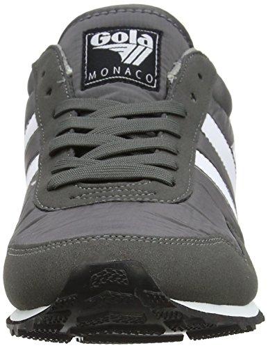 Gola Herren Monaco Sneaker Grau / Weiß / Rot