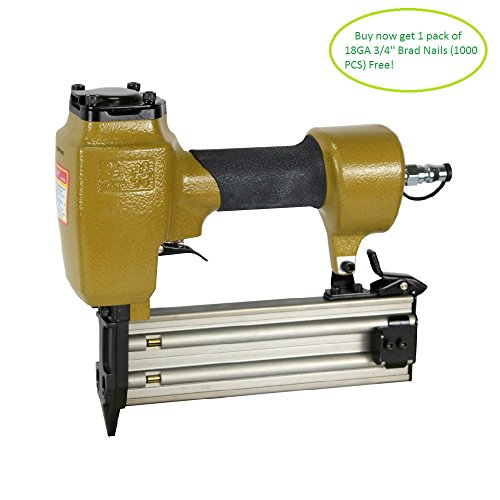 meite F50E 18 Gauge 3/4-Inch to 2-Inch Leg length Brad Nailer Finish Nailer