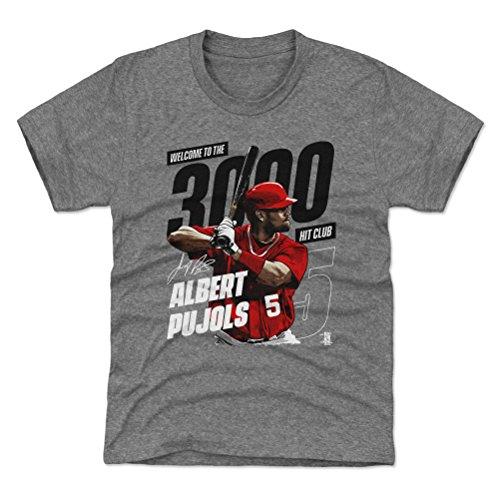 500 LEVEL Los Angeles Baseball Youth Shirt - Kids Small  Tri