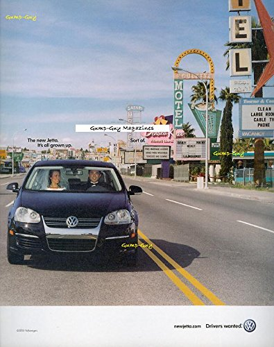 Vintage Vw Ads (Print Ad Jetta on the Las Vegas Strip All Grown Up VW Advert Advertising)
