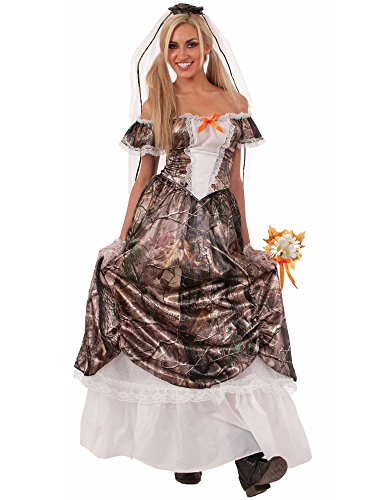 Forum Novelties Women's Huntin' For Love Bride Costume, C...