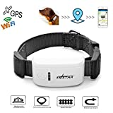 Big Dog GPS Tracker with Cute Collar Real-time Tracking Device Collar with Free