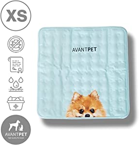 AVANTPET Reversible Comfortable Pet Cooling Pads for Cats and Dogs, Cooling Gel pad, Pressure Activated Self Cooling Dog Sleeping Bed, Keep a Pet Cool on Hot Weather
