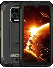 "DOOGEE S59 Pro Unlocked Rugged Smartphone 10050mAh Battery 4GB + 128GB Unlocked Cell Phones 2W Loud Speaker 16MP Camera Android 10 5.71"" Screen Helio P22 Waterproof Phone Face Fingerprint Unlocking"