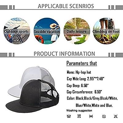 Hip Hop Snapbacks Black Cartoon Grandmother Embroidery Baseball Cap Street Hat