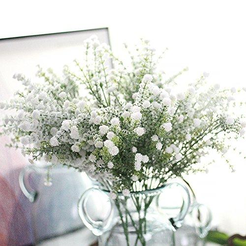 MSOO Artificial Gypsophila Floral Flower Fake Silk Wedding Party Bouquet Home Decor