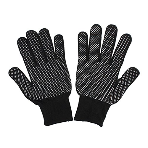 Black Men/Women Rock Climbing Gloves Outdoor Non-Slip Climbing Gloves