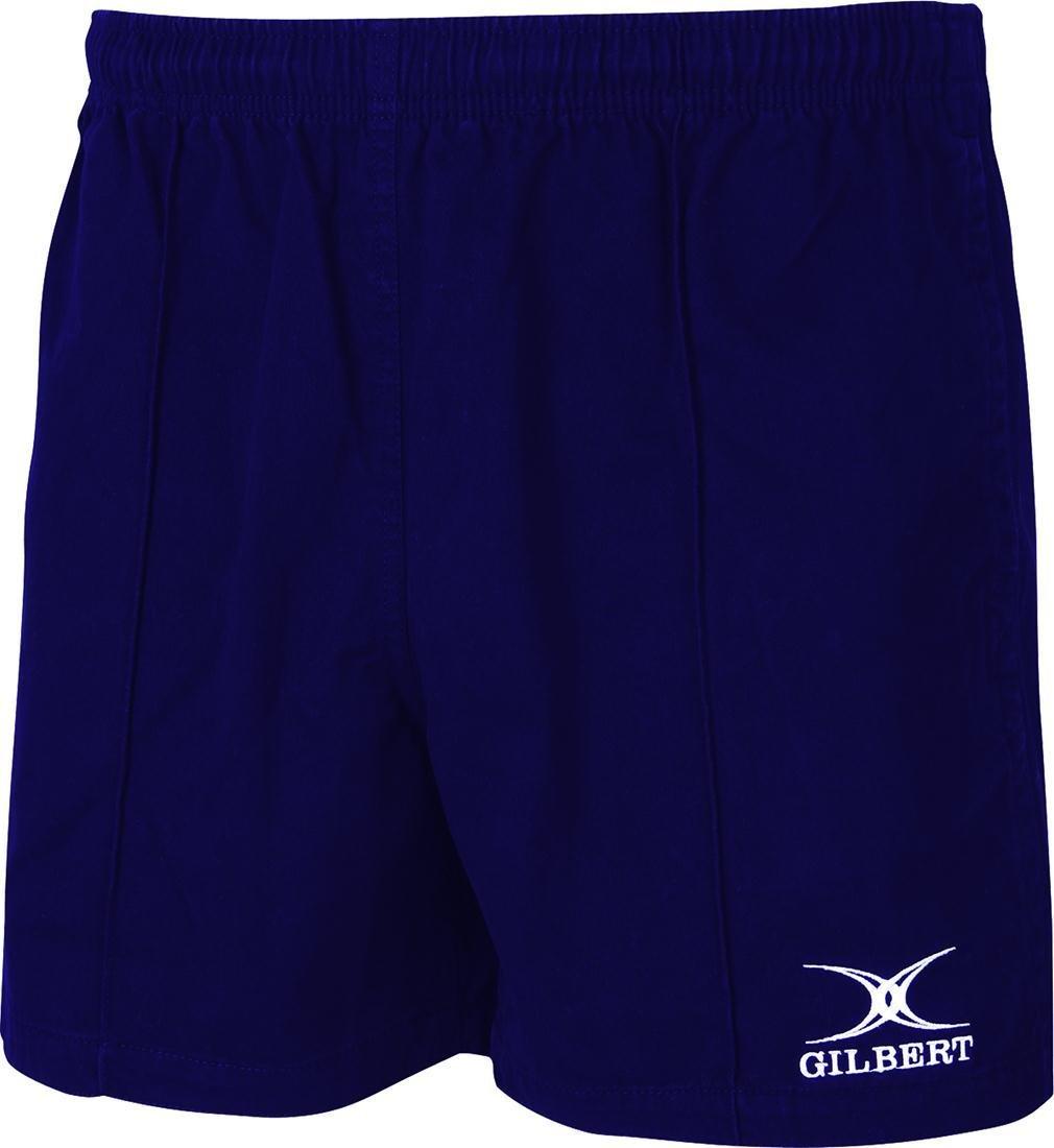 Gilbert Kiwi Proラグビースポーツチームトレーニングウェア伸縮性ウエストショーツ B06XYSD4YN ネイビー 9-10 Years