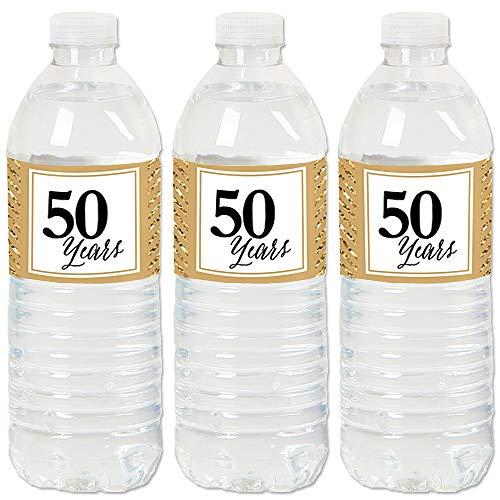 (We Still Do - 50th Wedding Anniversary - Anniversary Party Water Bottle Sticker Labels - Set of 20)