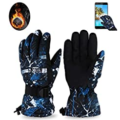 JuguHoovi Winter Gloves Thermal Gloves f...