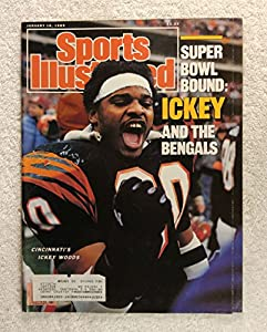 Ickey Woods - Cincinnati Bengals - Super Bowl Bound - Sports Illustrated - January 16, 1989 - SI