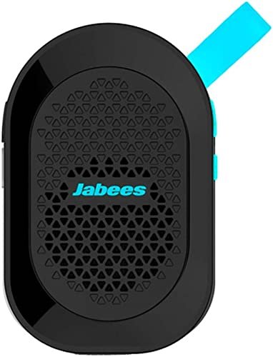 Jabees beatBOX MINI Portable Bluetooth Wireless Splashproof Speaker with In-Built Mic Blue