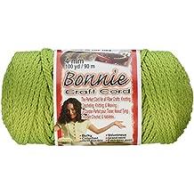 Pepperell BB4100146 Bonnie Macrame Craft Cord, 4mm X 100 yd, Lime