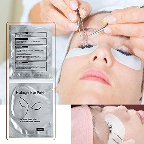 Aolvo Hydrogel Eye Patch,Under Eye Gel Pads Lint Free Lash Extension for Salon Professionals,Elelash Pads for Lashes,Make Up,Tinting,Eye Mask Beauty Tool by Aolvo (Image #3)