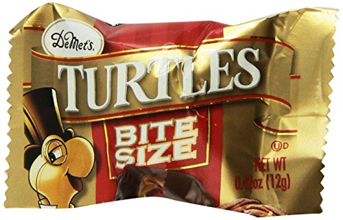 Demet's Turtles Original Bite Size (.42 ounce), 60-count