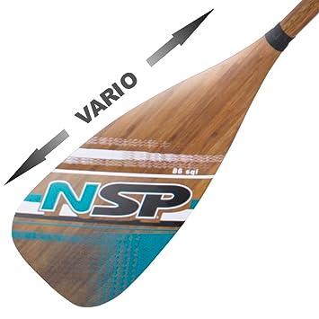 NSP - Remo Vario Ajustable - Carbon Bamboo 86 in²: Amazon.es: Deportes y aire libre