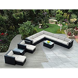 51fUKuxTYEL._SS300_ 100+ Black Wicker Patio Furniture Sets For 2020