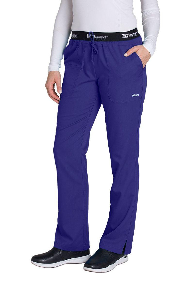 Grey's Anatomy Active 4275 Drawstring Scrub Pant Passion Purple 5XL