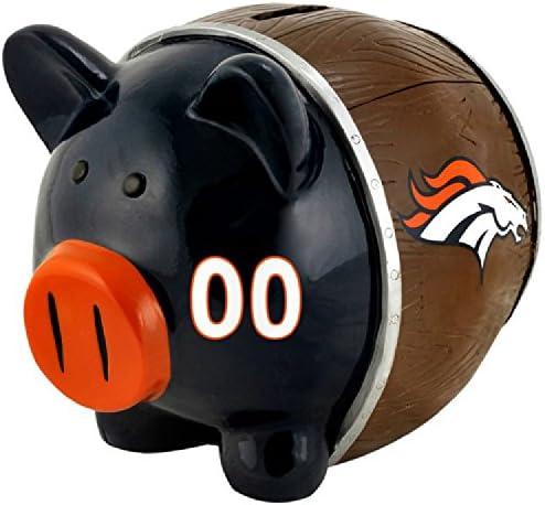 NFL Forever Collectibles Sparschwein 10 x 10 x 10 cm Denver Broncos