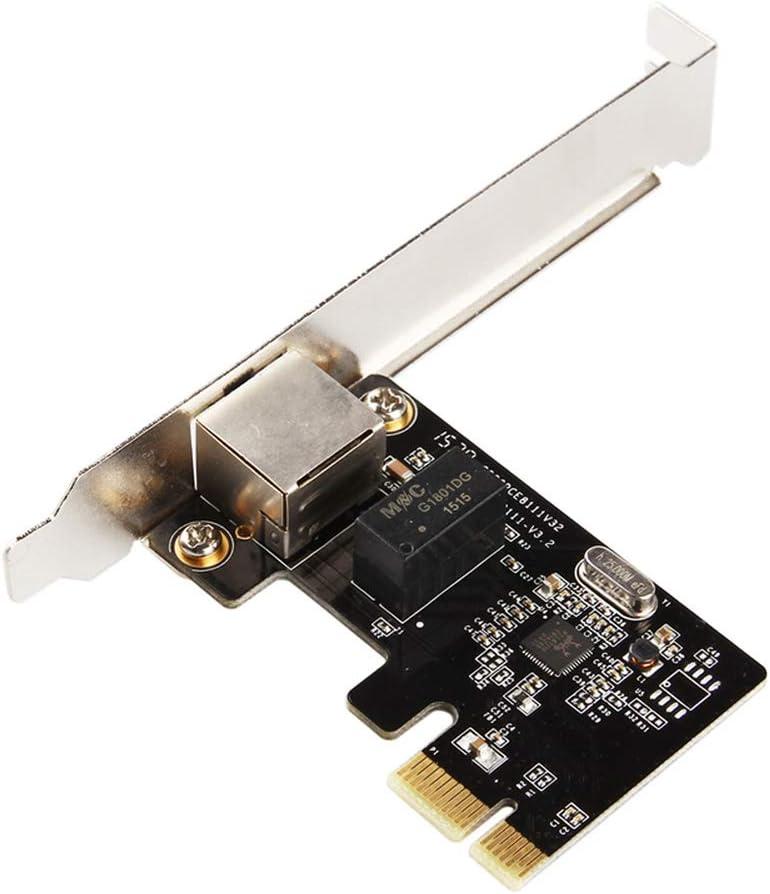 CHEN Single Port gigabit ethernet realtek chip PCI Express LAN Controller Card rtl8111F pcie Network Adapter with RJ45 Port