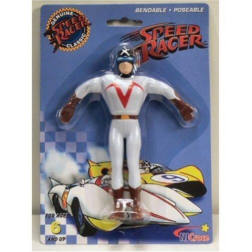 - Speed Racer Classics Racer X Bendable Poseable Figure