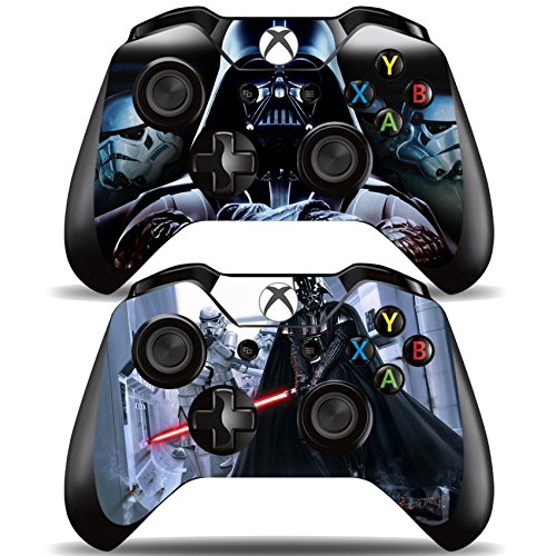 Vanknight Vinyl Decal Skin Stickers Cover for Xbox One 2 Controllers Skin