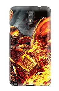 Hot Fashion Design Case Cover For Galaxy Note 3 Protective Case (ghost Rider)