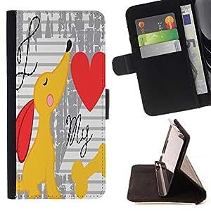 King Case - FOR Sony Xperia Z1 L39 - time to play - Prima caja de la PU billetera de cuero con ranuras para tarjetas, efectivo Compartimiento desmontable y correa para la mu?eca