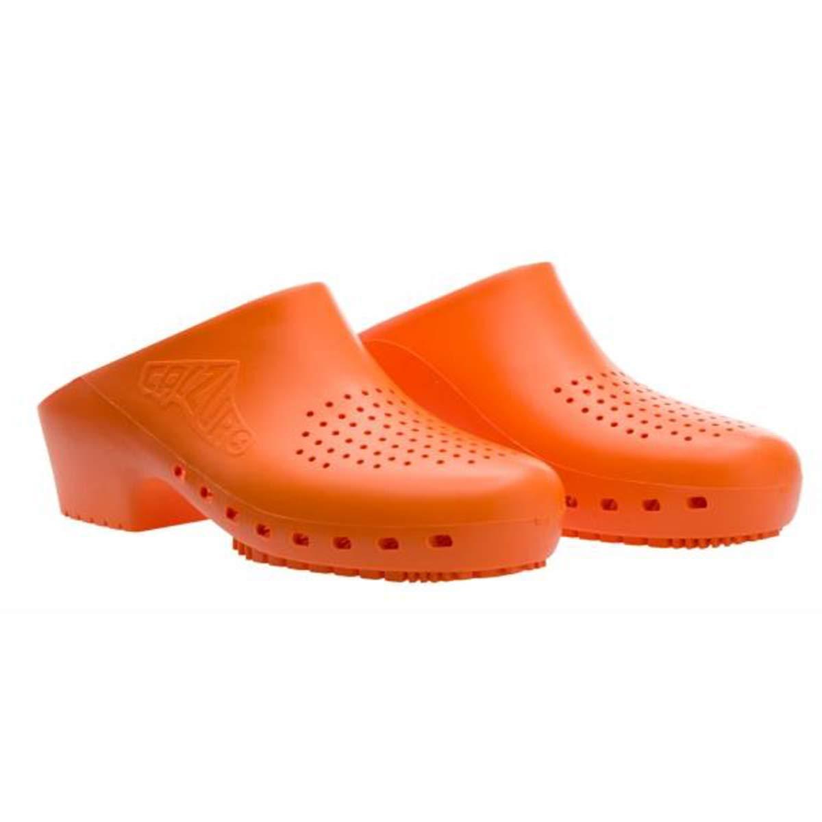 Cascos sanitarios calzuro S Classic con orificios profesionales CE 42-43 Granato