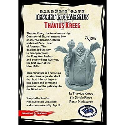 Descent into Avernus Thavius Kreeg (1 fig): Toys & Games