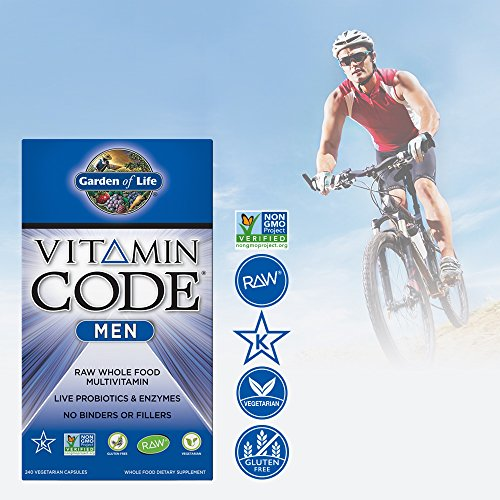 Garden Of Life Multivitamin For Men Vitamin Code Men 39 S Raw Whole Food Vitamin Supplement With