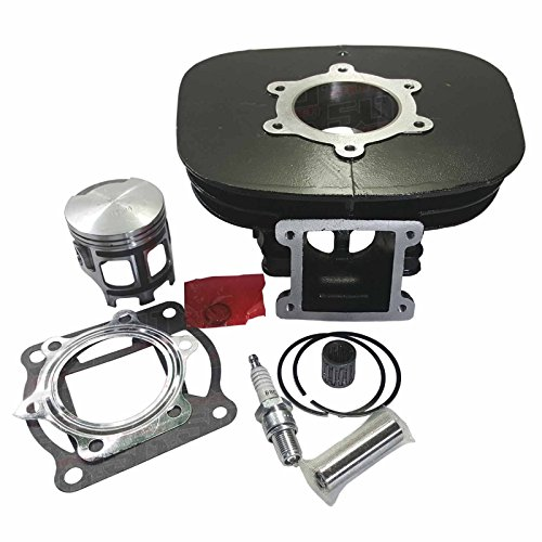 Top End Rebuild Cylinder Rebuild Kit - Fits 1995-2006 Yamaha Blaster YFS200 Models [4449-A5]