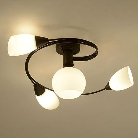 Nclon Estilo europeo Creativo Moderna Lámpara de techo ...