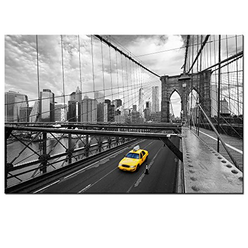 new york brooklyn bridge wall art - 8