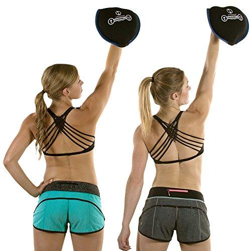 Hyperwear SandBell Neoprene SandBag Free Weight Unfilled 2 50 lbs