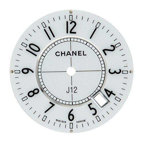 Chanel J12 23 mm White Arabic Dial for 33 mm H0968 Quartz Watch Model