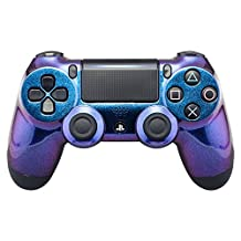 eXtremeRate Purple and Blue Chameleon Front Housing Shell Faceplate for Playstation 4 PS4 Slim PS4 Pro Controller Cuth-ZCT2 JDM-040 JDM-050 JDM-055