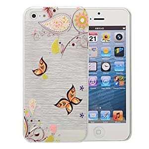 SHOUJIKE Multi-color Pattern Pattern PC Brushed Case for iPhone iPhone 5/5s