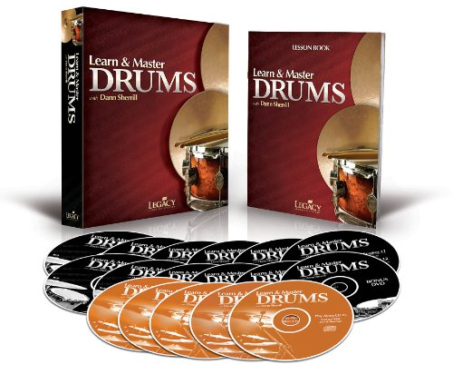 Learn & Master Drums Book/Dvd/Cd Pack