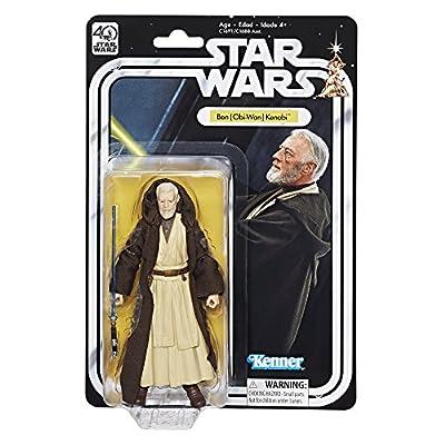 Star Wars The Black Series 40th Anniversary Ben (Obi-Wan) Kenobi 6 Inch Figure from Hasbro