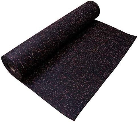 Incstores 3/ 8インチ 丈夫なジムフローリング用ゴムロール ( 40平方フィート 4 x 10フィート) 4'x10' 38rolls410