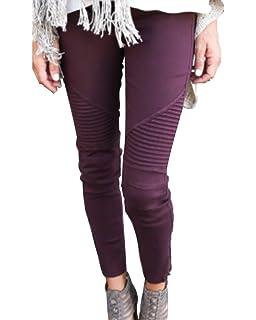 Damen Slim Fit Jeans Stretch Lässige Leggins Hose Mit Reißverschluss c36dcaa4e7