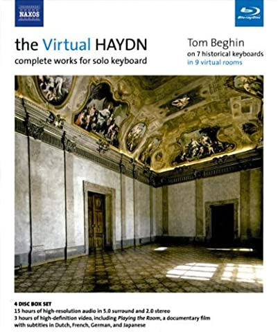 The Virtual Haydn: Complete Works for Solo Keyboard (Blu Ray Audio & Blu Ray DVD) (Virtual Fitness Dvds)