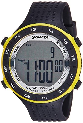 Sonata Digital Grey Dial Men #39;s Watch NL77040PP04 / NL77040PP04