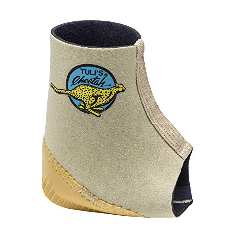 Tuli's Cheetah Heel Protector - Fitted Ankle Support for Gymnasts and Dancers - Small (7.5'' - 8.5'') by Tuli's (Image #2)