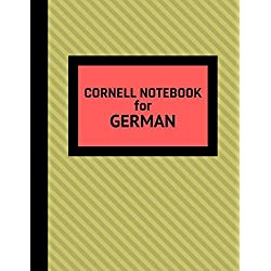 Cornell Notebook For German: Cornell Note Taking Template For Studying German Phrases, Translations and Vocabulary