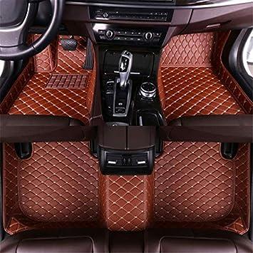 Jiahe El Alfombra Coche para Chevrolet Cruze 2009-2014 El Alfombra Coche para Cuero Esteras Coche Antideslizantes Alfombrillas Moqueta Impermeables Set Beige