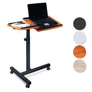 Mesa de ordenador portátil Teca/Negro - LT-001A/53 -