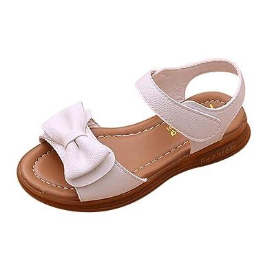 b4edf45b14729 GongzhuMM Sandales Bébé Fille 21-30 Chaussures Fille Été Creux Sandales  Enfant Fille Tongs